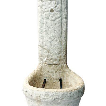Virágos ivókút M120cm H50cm Sz55cm Súly110kg