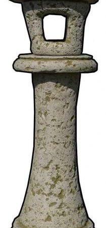 antik kerti lámpás H25cm Sz25cm M115cm Súly108kg